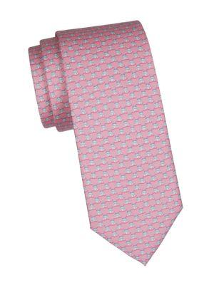 Hippo Silk Tie