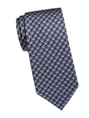 Sloth Silk Tie