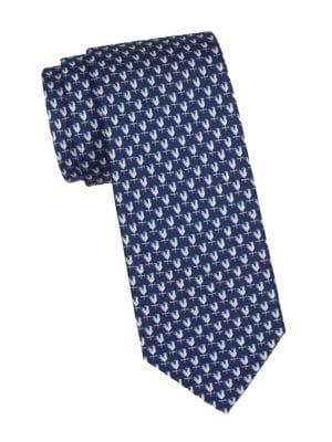Weather Vane Silk Tie
