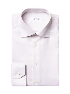 Contemporary-Fit Cotton Dress Shirt