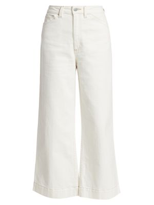 Rosie Workwear High-Rise Wide-Leg Jeans