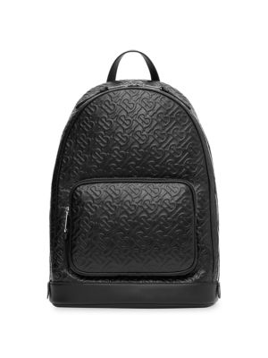 Monogram Leather Backpack
