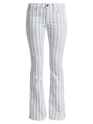 Le High Flare Surfer Stripe Jeans