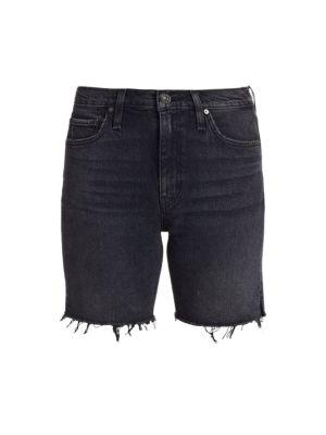 Hana Denim Biker Shorts