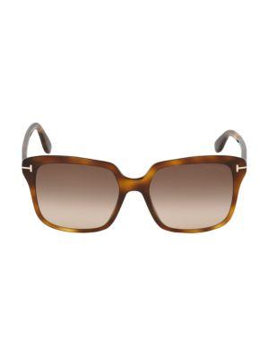 Faye 56MM Square Sunglasses