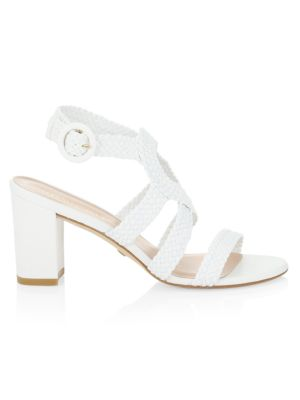 Vicky Woven Leather Sandals