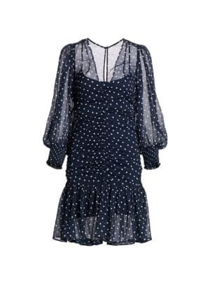 Summer of Love Chiffon Ruched Dress