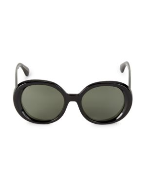 Leidy 56MM Oval Sunglasses
