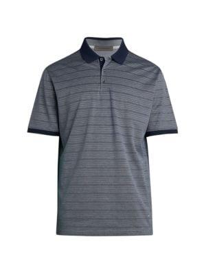 Mixed Stripe Polo T-Shirt