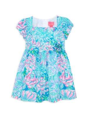 Little Girl's & Girl's Katrina Mini Floral A-Line Dress