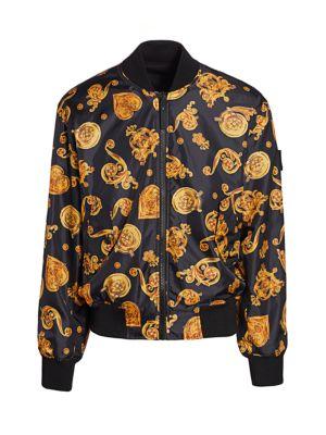 Baroque Printed Bomber Jacket
