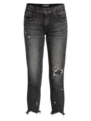 Glendale Distressed Skinny Jeans