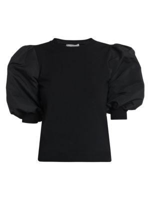 Maglia Puff-Sleeve Top