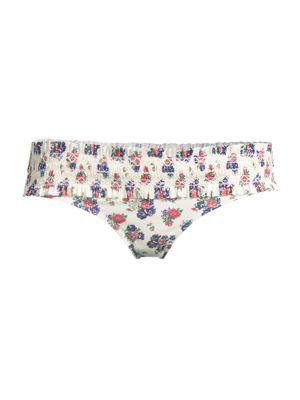 Costa Printed Hipster Bikini Bottom