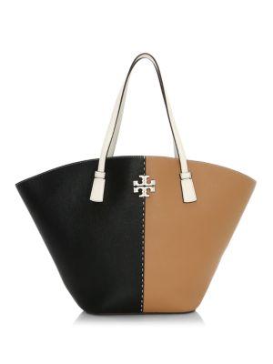 McGraw Colorblock Leather Shopper