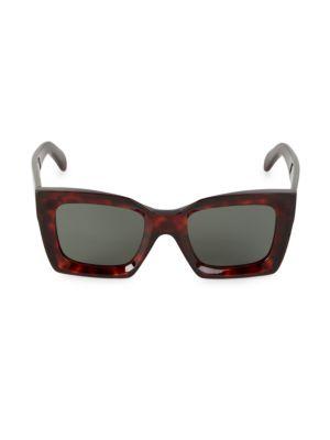 51MM Oversized Square Sunglasses