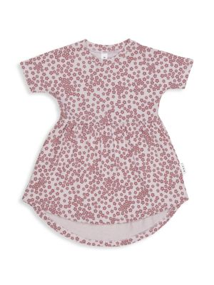 Little Girl's Wilderness Floral Swirl Dress
