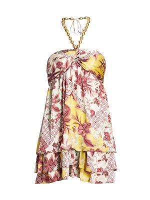Irati Empire Mini Dress