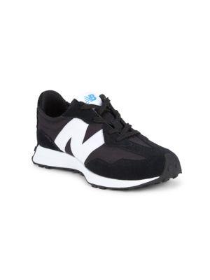 Kid's 327V1 Suede & Mesh Sneakers
