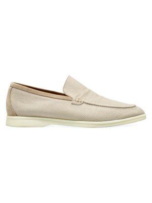 Summer Walk Textured Loafers