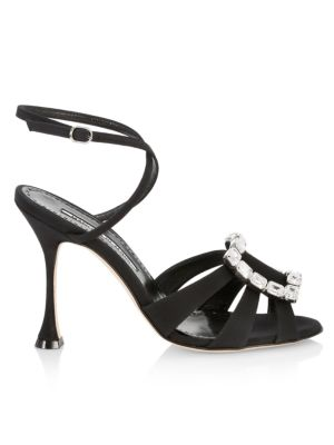 Ticuna Embellished Buckle Sandals