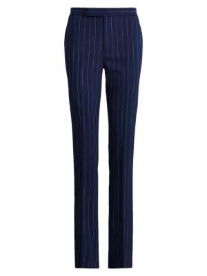 Seth Pinstripe Virgin Wool Trousers