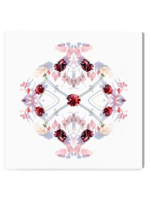 Floral Glam Central II Canvas Art