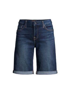 Bermuda Denim Shorts