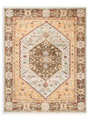 Samarkand Wool Hand-Knotted Rug