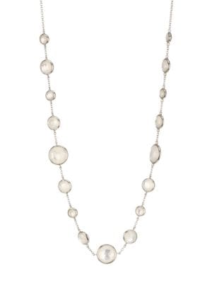 Lollipop® Short Lollitini Sterling Silver, Mother-Of-Pearl & Doublet Necklace