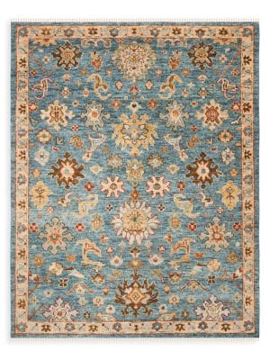 Samarkand Wool Hand-Knotted Rug