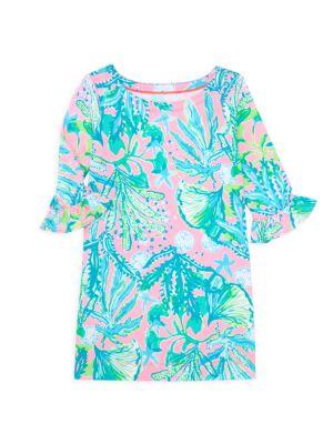 Little Girl's & Girl's UPF 50+ Mini Sundress