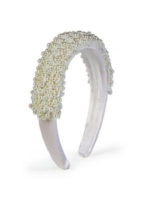 3D Floral Satin Headband