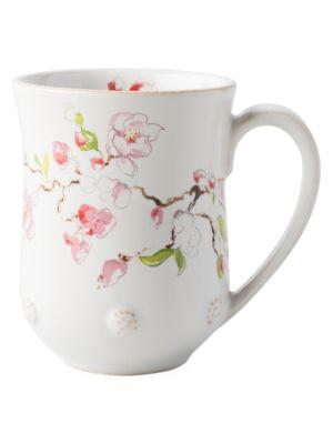 Berry & Thread Floral Sketch Mug