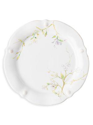 Berry & Thread Floral Sketch Jasmine Dinner Plate