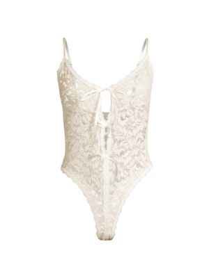 Golden Allure Thong Lace Teddy
