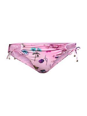 Trippy Floral Bikini Bottoms