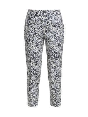 Audrey Printed Crop Pants
