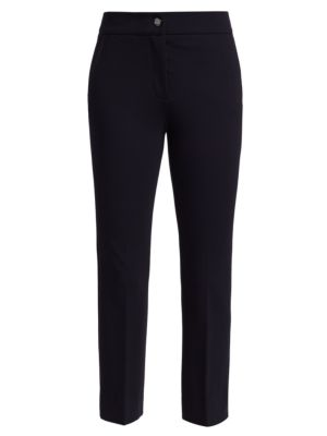 Cropped Flare Jersey Trousers