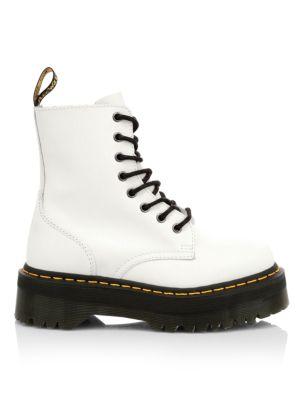 Jadon Leather Combat Boots