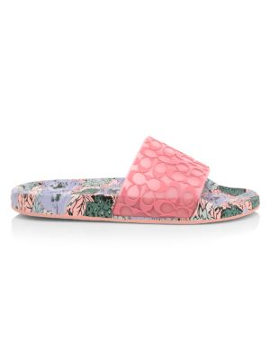 Udele Floral Beach Slides