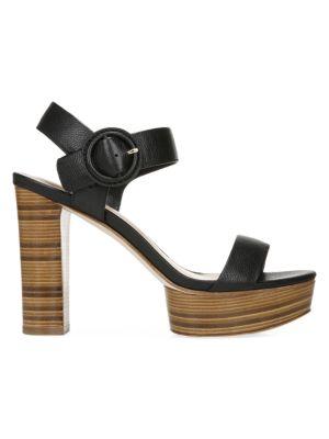 Ira Leather Platform Sandals