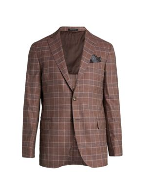 COLLECTION Glen Plaid Sportcoat
