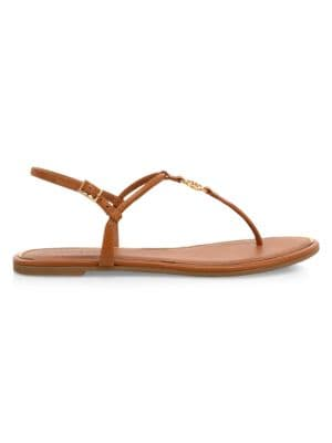 Emmy Leather Thong Sandals