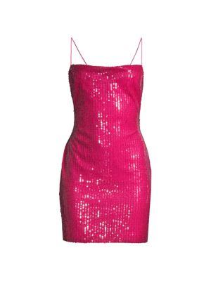 Eve Sequin Mini Dress