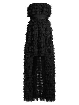 Eve Ruffle Tulle Gown