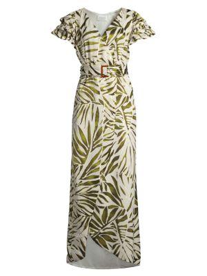 Dalia Belted Layered Dress