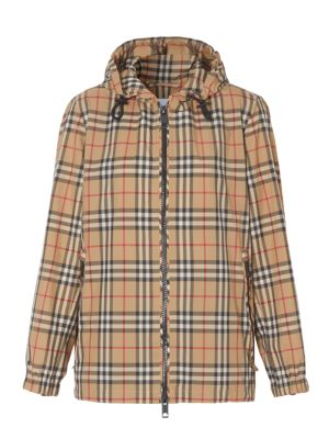 Archive Check Kway Jacket
