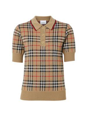 Archive Check Merino Wool Sweater
