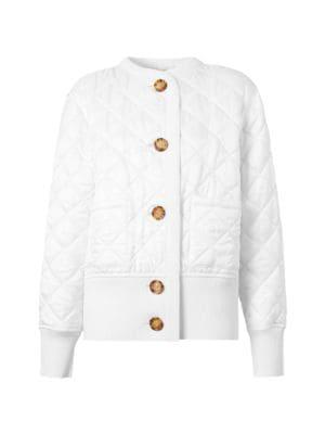 Bardsey Quilted Knit-Back Jacket